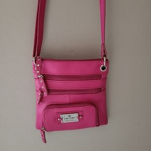 Nicole Miller Purse in Hot Pink